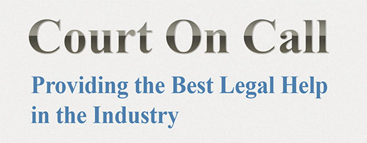 Court On Call, Providing the Best Legal Help